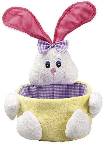 Miles Kimball Plain Girl Bunny Easter Basket