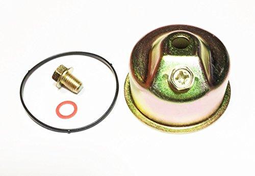 Sellerocity Brand Carburetor Float Bowl Chamber Kit Fits MOST Honda GX240 GX270 GX340 GX390 GXV270 GXV340 GXV390 OEM 16015-ZE8-005 (Carburetor Honda Bowl)