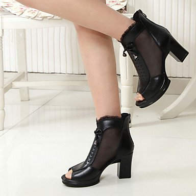 Jane Black Feather Casual ggx Mary Wedge Women's Boots Heel LvYuan Winter PU wXpA76xq