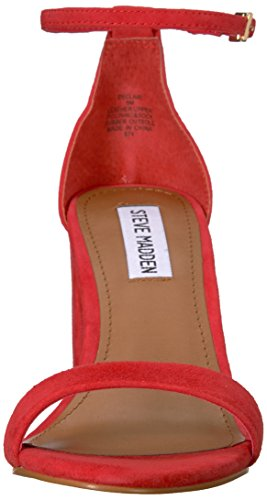 Steve Suede Dress Madden Women's Declair Red Sandal f0zwfrq8H