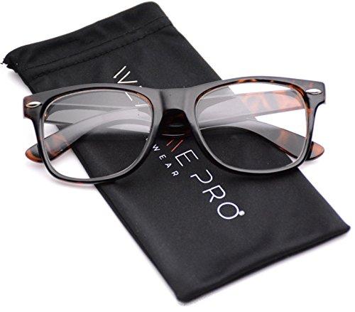 Clear Frame Glasses Nerd Clear Lens Sunglasses Tortoise