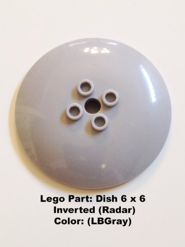 Lego Parts: Dish 6 x 6 Inverted (Radar) - 7754 Lego