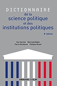 """Afficher """"Dictionnaire de la science politique et des institutions politiques"""""""