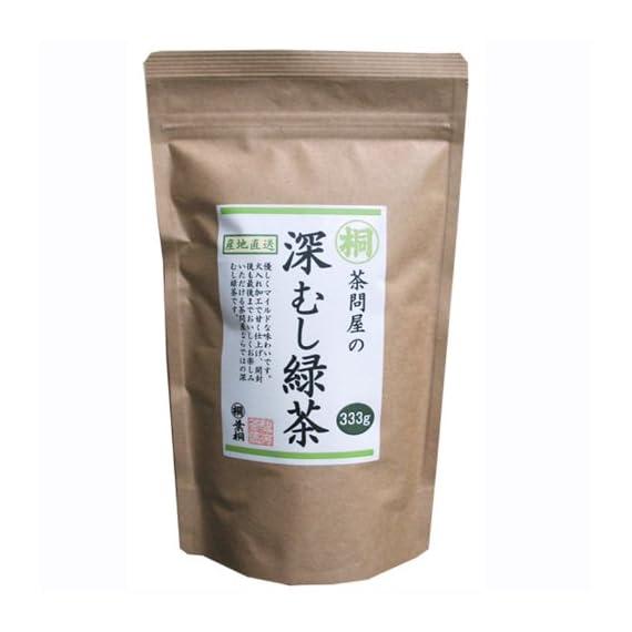深むし緑茶 Japanese Pure Green Tea (333g/11.74oz) Sen-Cha Ryoku-Cha Extra Volume & Special Price japanese green tea from… 1 1