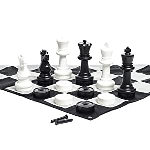 chess set amazon megachess large chess set 12 inch king 29756