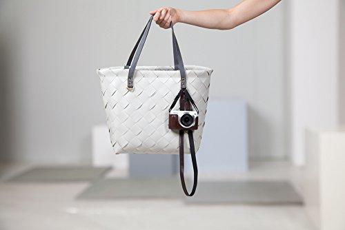 Handed By Einkaufstasche Damen Tasche Shopper Landhaus Kunststof Korb groß