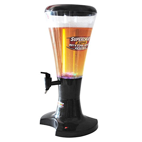 Cold Draft Beer Tower Dispenser Plastic with LED Lights 3L NEW (Kegerator Repair Kit compare prices)
