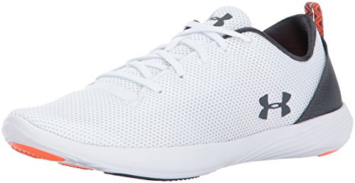 Under Armour Womens Street Precision Sport Low Neutral White/White/Stealth Gray