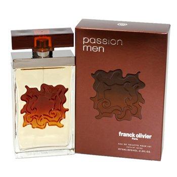 Franck Olivier Passion Eau de Toilette Spray for Men, 2.5 - Cologne Mens Passion