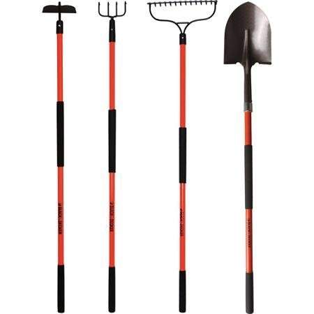 Long-Handled Tool Set, Set of 4 by BLACK+DECKER by BLACK+DECKER