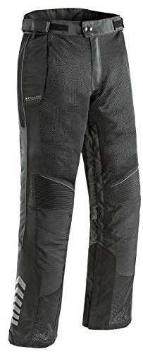 (Joe Rocket Phoenix Ion Men's Mesh Motorcycle Pants (Black, Large Short))