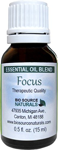 Focus Essential Oil Blend - 30 Ml / 1 - Essential Oil Angel Blend