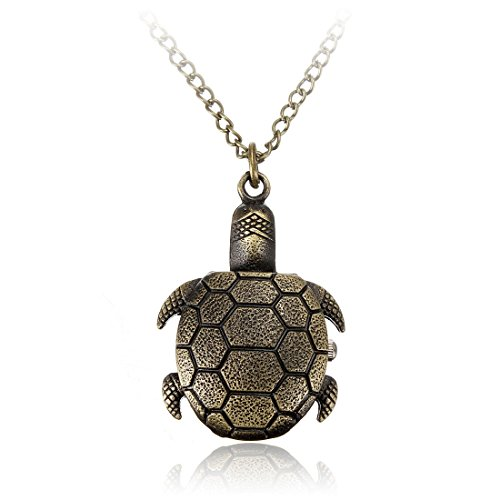 Pocket watch - SODIAL(R)FOB necklace chain turtle Quartz pocket watch - Novelty Pocket Watch