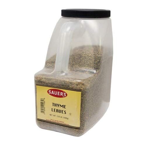C.F. Sauer Foods Thyme Leaf, 36 Ounce -- 3 per case. by C.F. Sauer Foods