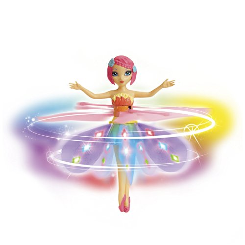 Deluxe Light Up Flutterbye Fairy - Rainbow