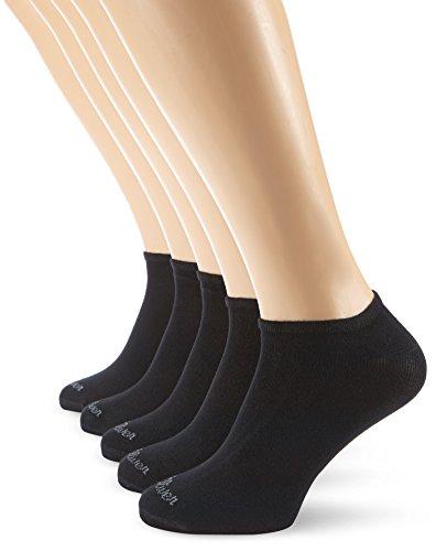s.Oliver Unisex - Erwachsene Sneakersocke 5 er Pack, S24118, Gr. 39-42, Schwarz (05 black)