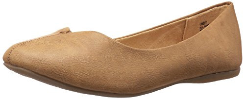 Jellypop Women's Indy Flat, Toffee Rub-Off Small, 10 M US (Small Rub)