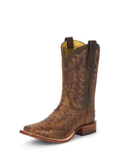 (Tony Lama Men's Vintage Ostrich E9452 Western Boot,Chocolate,7 D US)