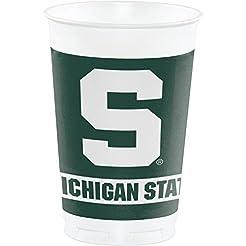 Michigan State Spartans 20 oz. Plastic C...