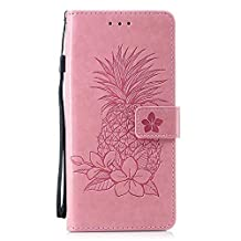 Funda Galaxy Note 9 Premium de Cuero, The Grafu® Estilo Libro Billetera Funda para Samsung Galaxy Note 9, Flip Carcasa con Ranuras para Tarjetas, Rosa