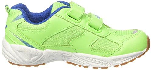GEKA Bob V, Zapatillas de Deporte Interior Unisex Niños Verde (Gruen/blau Gruen/blau)