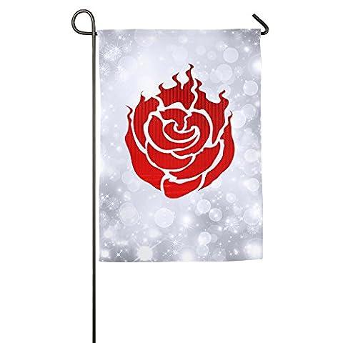 ^GinaR^ Rwby Ruby Rose Symbol Popular Demonstration Flag (Grimm Dvd Season 4)