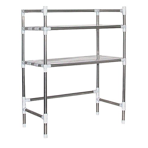 OKOKMALL US--Kitchen Baker's Rack Utility Microwave Oven Stand Storage Workstation Shelf NEW