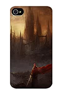 Awesome Case Cover/iphone 4/4s Defender Case Cover(warrior Warrior City Cities Castle Fantasy )