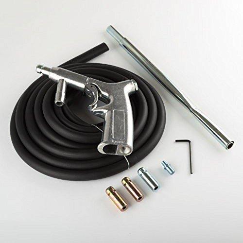 WennoW Sandblaster Kit 8pc Air Nozzles Sandblasting Gun Tubes Pick Up Sand Blaster New by WennoW