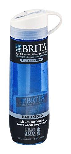 Brita Incomprehensible Sided Bottle Bpa Free 24 Oz Drinking Straw Blue