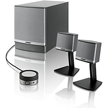 bose companion 3 series ii multimedia speaker system computers accessories. Black Bedroom Furniture Sets. Home Design Ideas