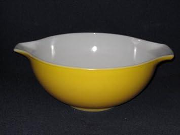 Amazon.com: Vintage 1950\'s Large 2 1/2 Quart Orange-Yellow ...