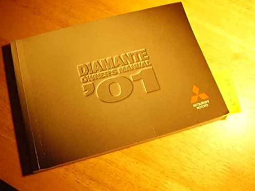 2001 mitsubishi diamante owners manual mitsubishi amazon com books rh amazon com 2001 mitsubishi diamante owners manual pdf 2001 Mitsubishi Diamante Interior
