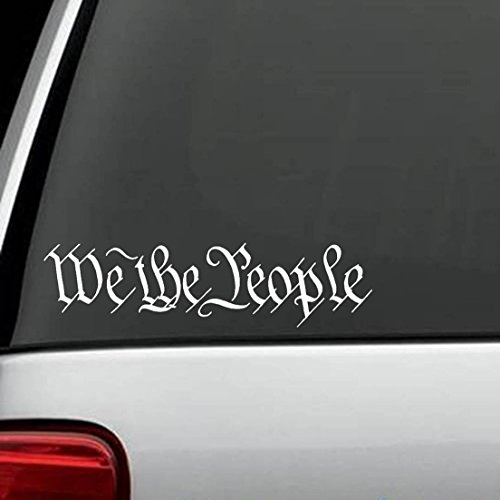 (2x) We the People Sticker Decal Sticker (Decal People)