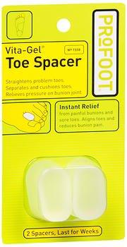 ProFoot Vita-Gel Toe Spacer 2 Each (Pack of 3)