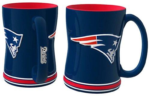 NFL New England Patriots Relief Sculpted Mug ()