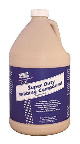 Granitize C-6 Auto Super Duty Rubbing Compound - 1 Gallon