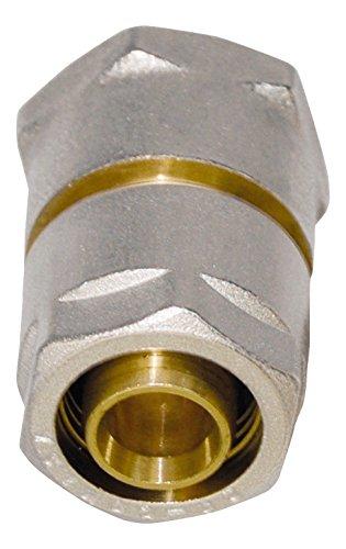 Oro//Plata//cromo//cobre Wiroflex Anillo de uni/ón incluye adaptador 1/pieza 26/mm x 3//4/IG 26327/6