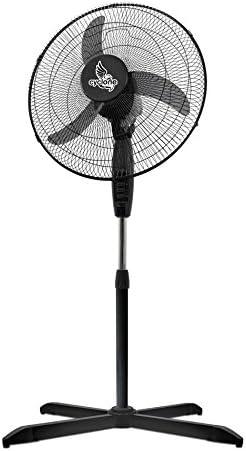 Ventilador/Circulador de aire con pie Cyclone - 45cm / 55W (FL4502 ...