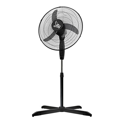 Ventilatore con piede Cyclone - 45cm   55W (FL4502)
