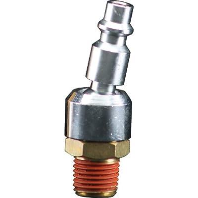 Bostitch BTFP72333 Industrial 1/4-Inch Series Swivel Plug with 1/4-Inch NPT Male Thread by Bostitch