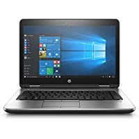HP Probook 640 G3 14 Notebook, Windows, Intel Core i5 2.5 GHz, 4 GB RAM, 500 GB HDD, Black (1BS08UT#ABA)