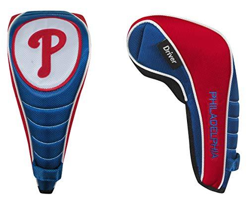 McArthur Philadelphia Phillies Shaft Gripper Driver Headcover (Renewed) (Phillies Add On Items)
