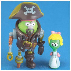Amazoncom Veggie Tales Toy Robert And Eloise Figures The