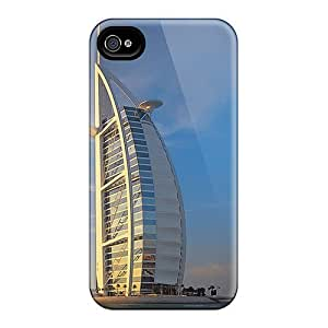 Top Quality Protection Burj Al Arab V6 Case Cover For Iphone 4/4s