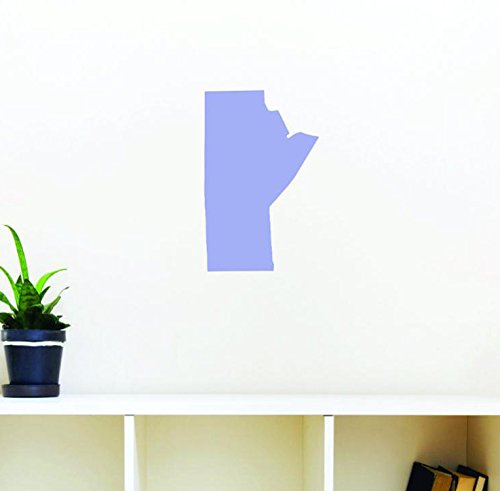 Design with Vinyl Moti 1305 3 Manitoba Canadian Providence Map Peel /& Stick Wall Decal 30 x 50