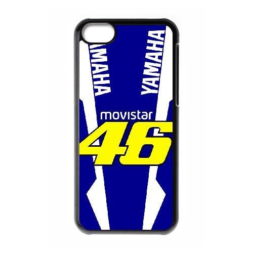 Valentino Rossi KJ72WN7 cas d'coque iPhone de téléphone cellulaire 5c coque R1YM5G2YX