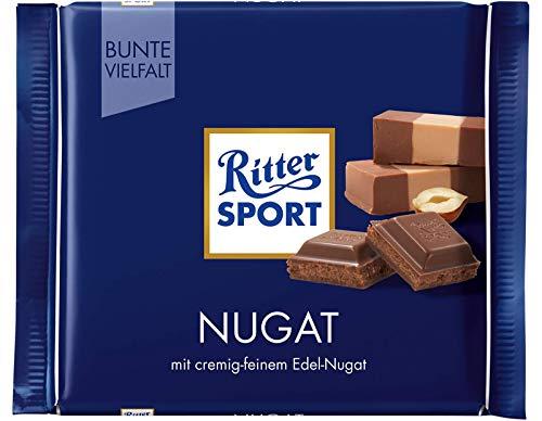 (Ritter Sport Praline Chocolate Bar Candy Original German Chocolate 100g/3.52oz)
