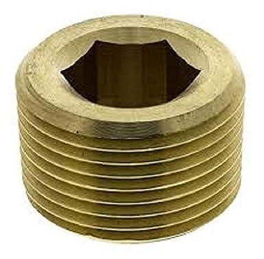 NPT Brass 3//8 Parker 0205 18 00 Plug Hexagon Head Male