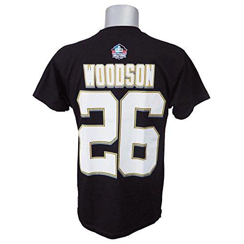Majestic(マジェスティック) NFL ピッツバーグ?スティーラーズ ロッド?ウッドソン 殿堂入り記念 エリジブル レシーバー II ネーム&ナンバーTシャツ (ブラック)